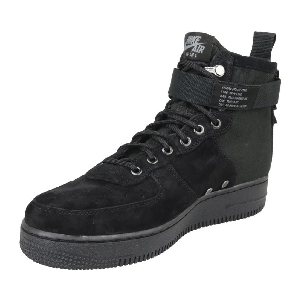 Sapatilhas Nike Sf Air Force 1 Mid M 917753 008 preto