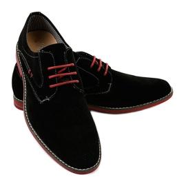 Sapatos elegantes pretos 6-688 3
