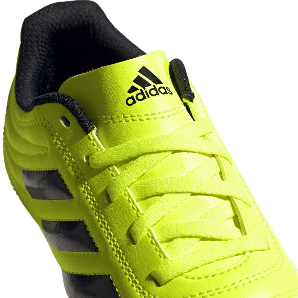 Chuteira Adidas Copa 19.4 Fg Jr F35461 amarelo amarelo