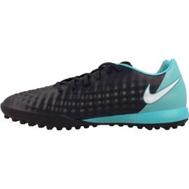 Sapatos de futebol Nike MagistaX Onda Ii Tf M marinha marinha, azul 1