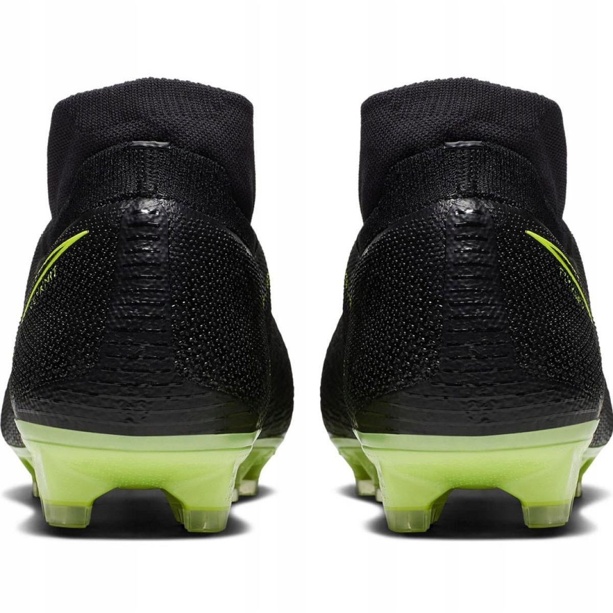 Chuteiras de futebol Nike Phantom Vsn Elite Df Fg M AO3262 007 preto preto
