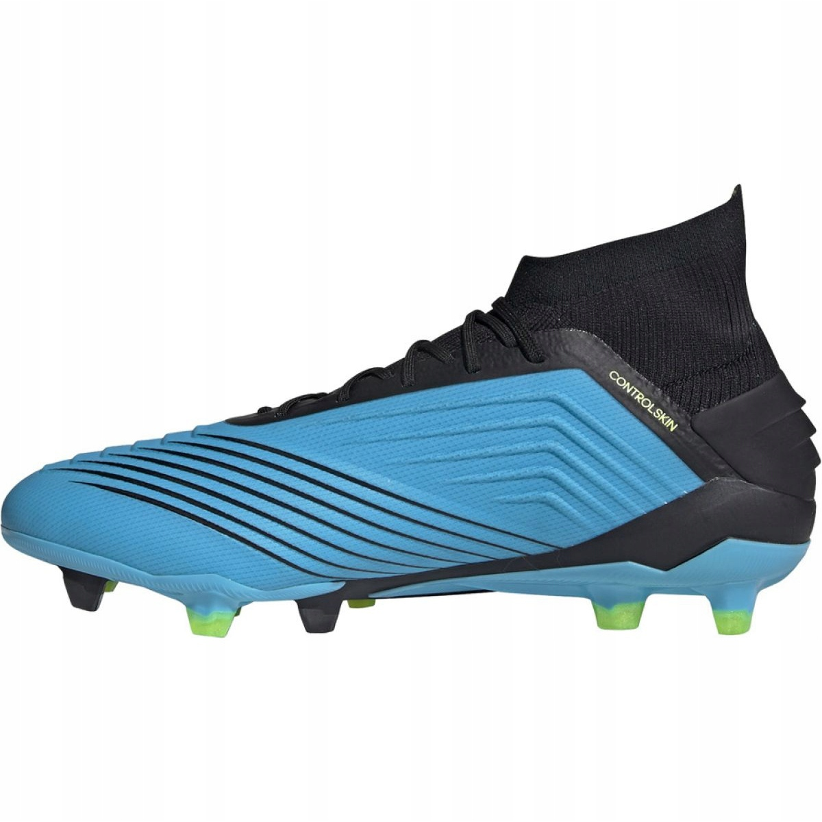 Chuteiras de futebol Adidas Predator 19.1 Fg M F35606 azul azul