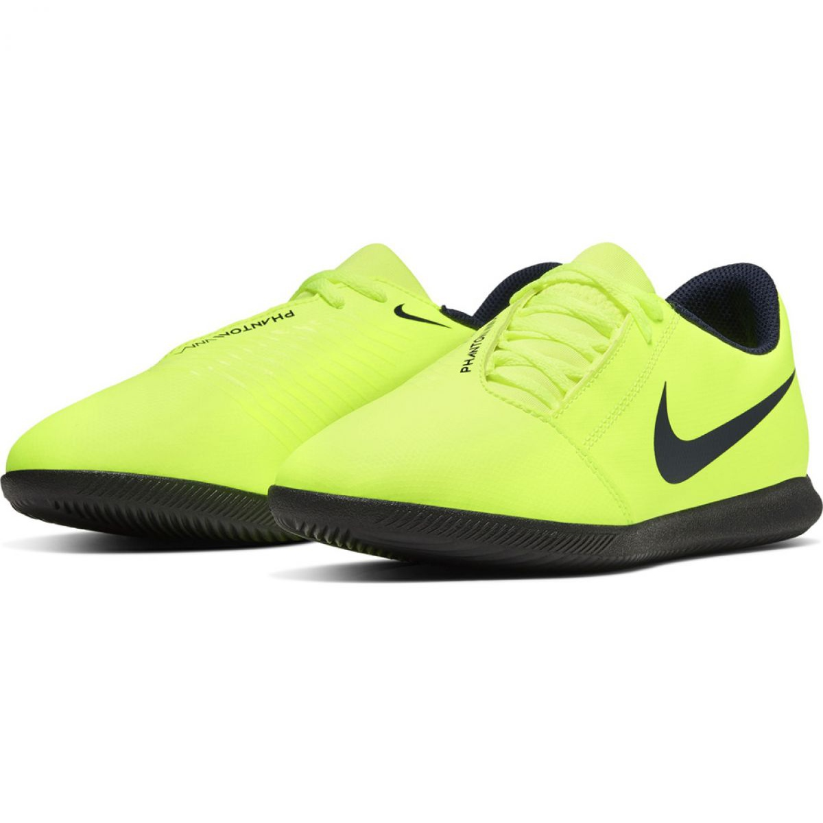 Sapatos de interior Nike Phantom Venom Club Ic Jr AO0399 717 amarelo amarelo