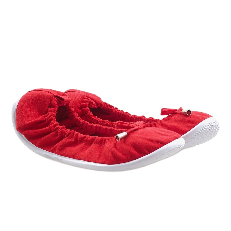 Bailarinas clássicas VB1 vermelho