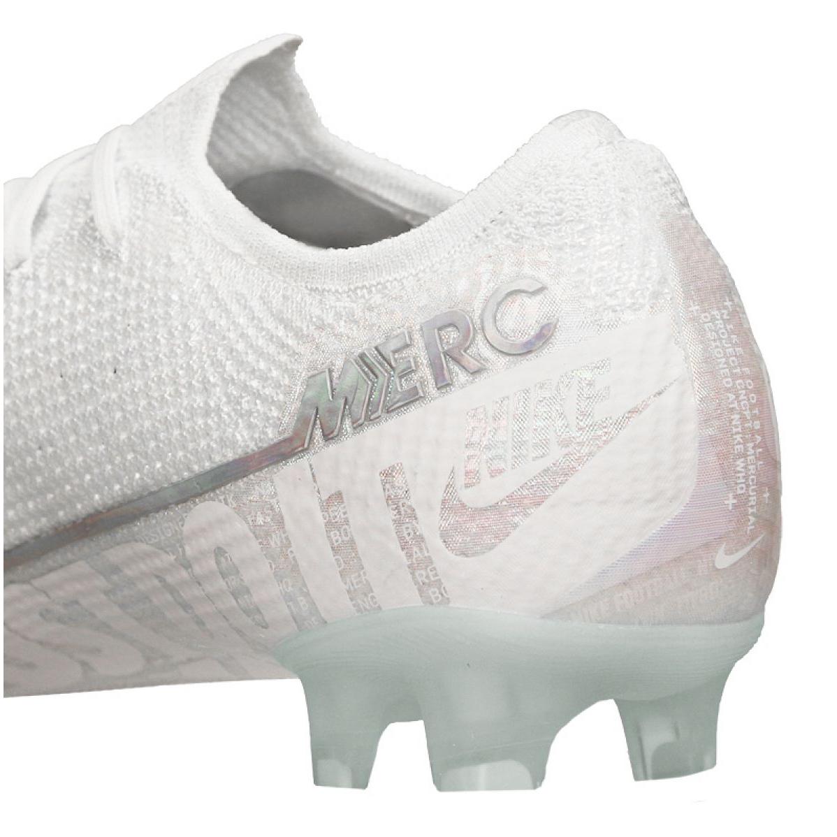 Chuteiras de futebol Nike Vapor 13 Elite Fg M AQ4176 100 branco branco