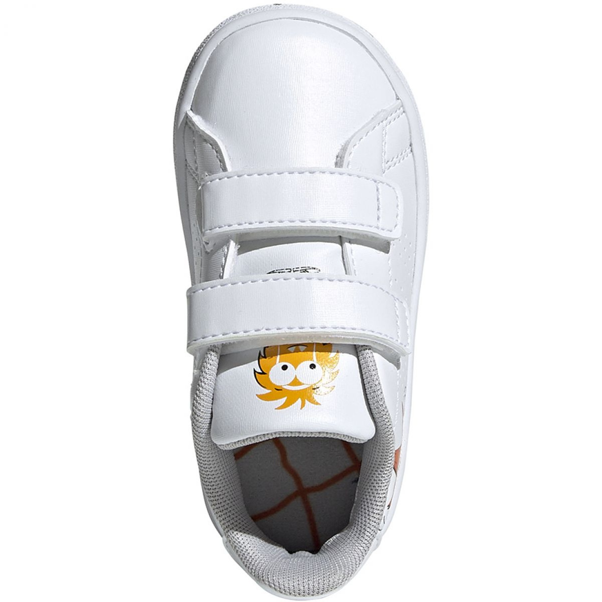 Sapatos Adidas Advantage I Jr EF0305 branco