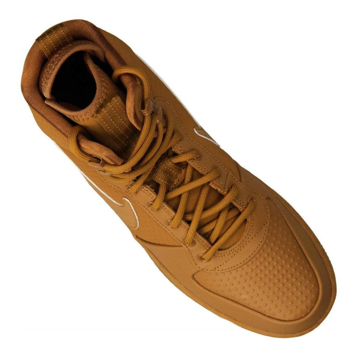 Sapatilhas Nike Ebernon Mid Winter M AQ8754 700 marrom