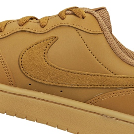 Sapatilhas Nike Court Borough Low 2 (GS) Jr BQ5448 700 marrom