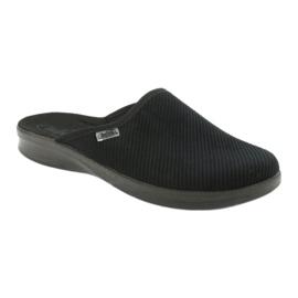 Sapatos masculinos befado pu 548M020 preto 1