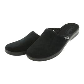 Sapatos masculinos befado pu 548M020 preto 3