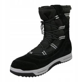 Sapatos de inverno Timberland Snow Stomper Pull On Wp Jr A1UIK preto 1