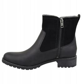 Sapatos de inverno Timberland Bethel Biker W 6914B preto 1