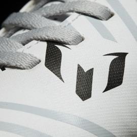 Botas de futebol adidas Nemeziz Messi 17.4 TF Jr S77207 branco 3