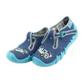 Sapatos infantis Befado 110P320 azul 4
