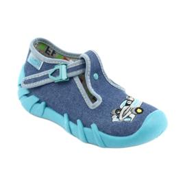 Sapatos infantis Befado 110P320 azul 2
