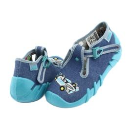 Sapatos infantis Befado 110P320 azul 5