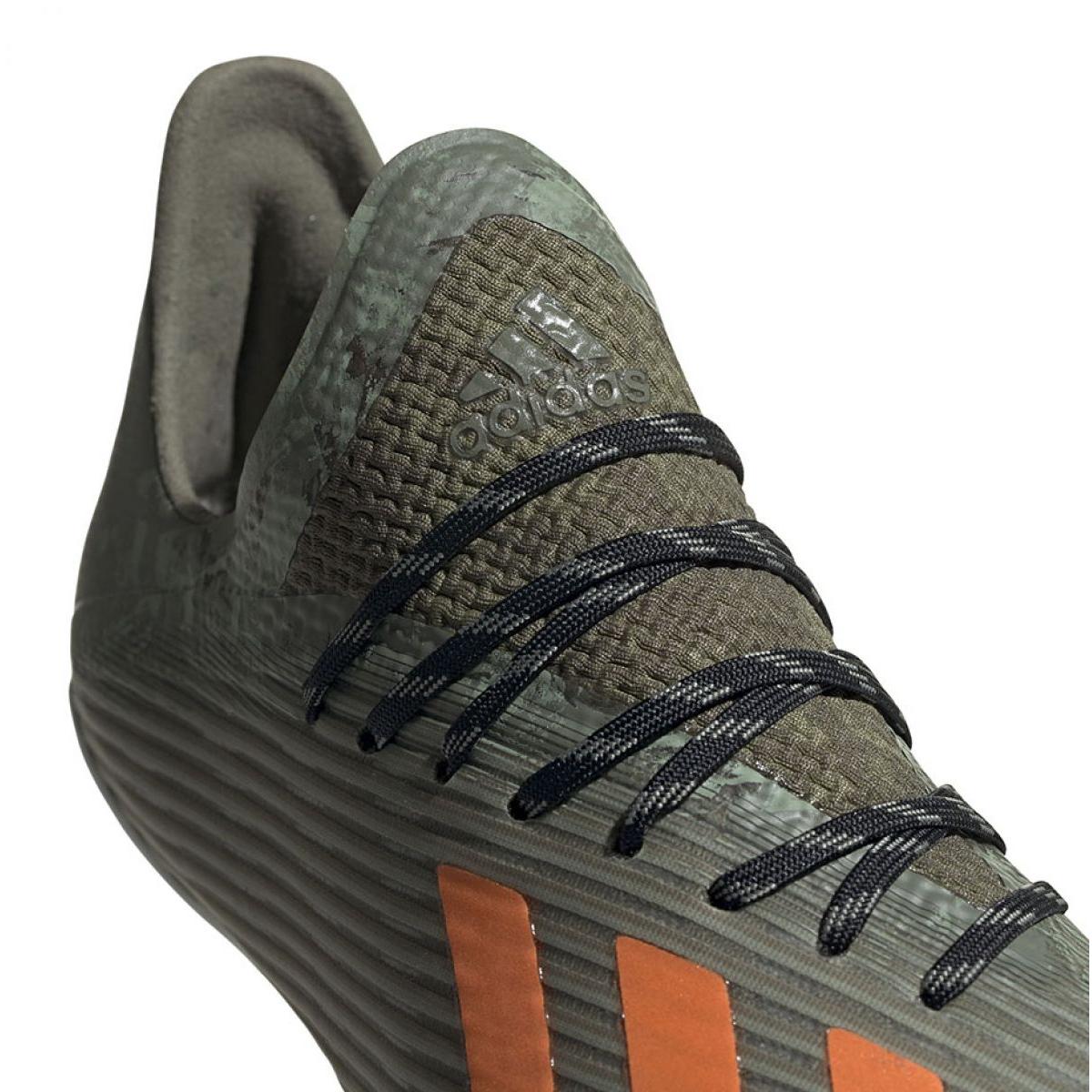Chuteiras de futebol Adidas X 19.1 Jr Fg EF8301 verde verde