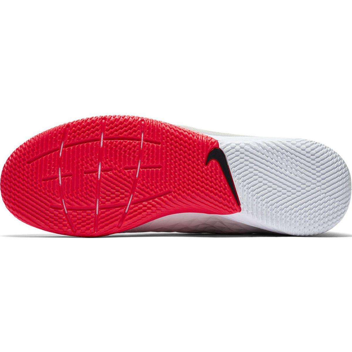 Chuteiras de futebol Nike Tiempo React Legend 8 Pro M Ic AT6134 061 bege bege creme, vermelho