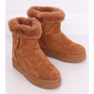 Botas de neve com pêlo camelo PP-30 Camel marrom 3