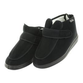 Sapatos femininos Befado pu orto 987D002 preto 4