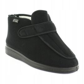 Sapatos femininos Befado pu orto 987D002 preto 2