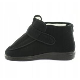 Sapatos femininos Befado pu orto 987D002 preto 3