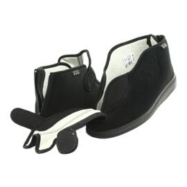 Sapatos femininos Befado pu orto 987D002 preto 5