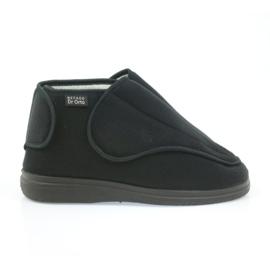 Sapatos masculinos befado pu orto 163M002 preto 1