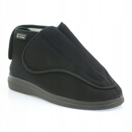 Sapatos masculinos befado pu orto 163M002 preto 2