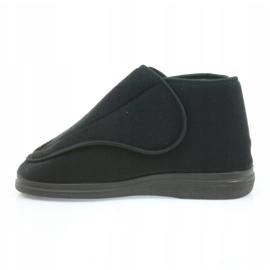 Sapatos masculinos befado pu orto 163M002 preto 3