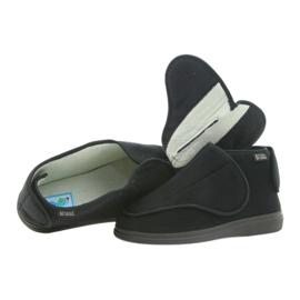 Sapatos masculinos befado pu orto 163M002 preto 4