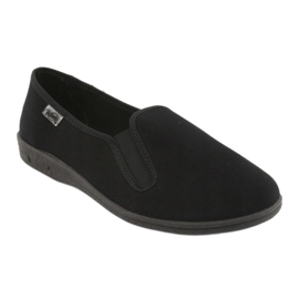 Sapatos masculinos Befado pvc 001M060 preto 2