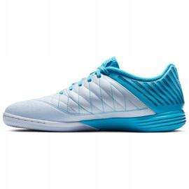 Sapatos de interior Nike Lunargato Ii Ic M 580456-404 azul branco, azul 1