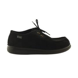 Sapatos femininos Befado pu 871D004 preto 2