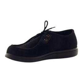 Sapatos femininos Befado pu 871D004 preto 4