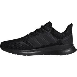Sapatilhas de running adidas Runfalcon W F36216 preto 1