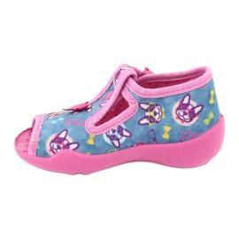 Sapatos infantis Befado rosa 213P113 2