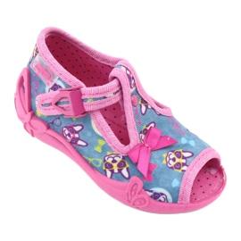 Sapatos infantis Befado rosa 213P113 1