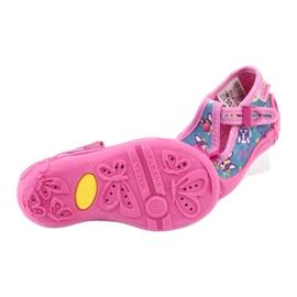 Sapatos infantis Befado rosa 213P113 5