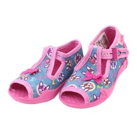 Sapatos infantis Befado rosa 213P113 3