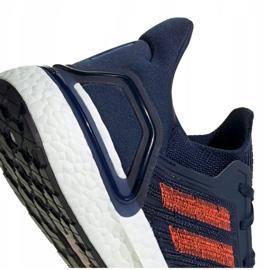 Sapatos Adidas UltraBoost 20 M EG0693 marinha 4