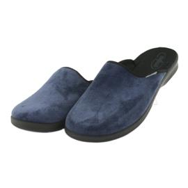 Sapatos masculinos befado pu 548M018 preto marinha 4