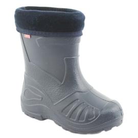 Calçados infantis Befado galosh-garnet 162Y103 azul marinho 2