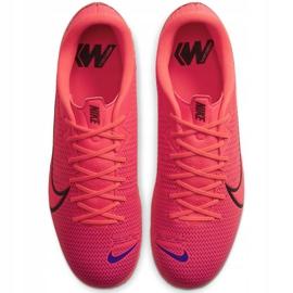 Sapatilhas de gelo Nike Mercurial Vapor X 12 Academy CR7 Ic M AJ3731 600 vermelho vermelho
