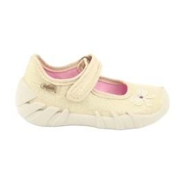 Calçado infantil Befado 109P152 amarelo 2
