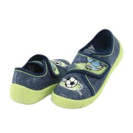 Calçado infantil Befado 557P138 marinha verde 5