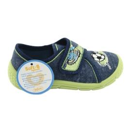 Calçado infantil Befado 557P138 marinha verde 7