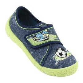 Calçado infantil Befado 557P138 marinha verde 2