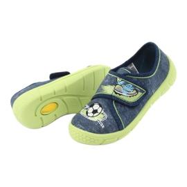 Calçado infantil Befado 557P138 marinha verde 6