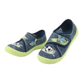 Calçado infantil Befado 557P138 marinha verde 4